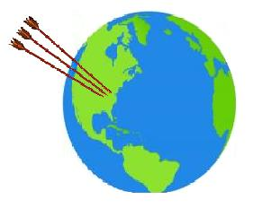 arrow globe JPEG